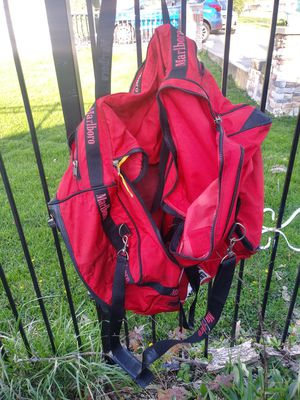 Extra extra large Marlboro duffle bag with wheels for Sale in Indianapolis, IN