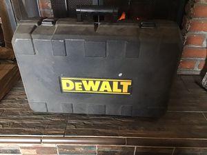 DeWalt power tool case for Sale in Rialto, CA