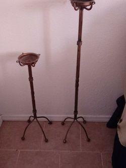 Beautiful Brass Candle Stands for Sale in Yakima,  WA