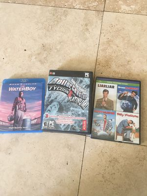 lot of games and walt disdey lithographs and about 30 movies for kids & Adults for Sale in Diamond Bar, CA