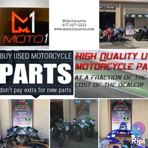Used motorcycle parts Gsxr,CBR,R1,R6,Zx6r,Zx10R for Sale in Apopka, FL