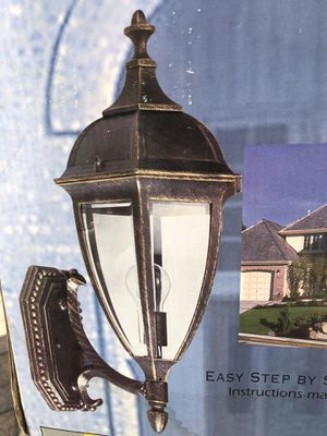Outdoor / Exterior wall sconce lights for Sale in Ronkonkoma, NY