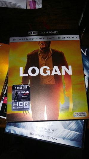 Logan 4k ultra HD dvd for Sale in Chicago, IL