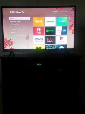 🦇 $125 today only 🦇TCL LED 3 series Roku TV, 32 inch Full HD 1080p 1 usb port, excellent condition. for Sale in Denver, CO