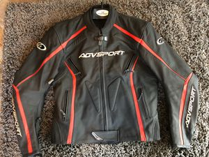 AGV Sport Dragon Leather Motorcycle Jacket for Sale in Bristow, VA
