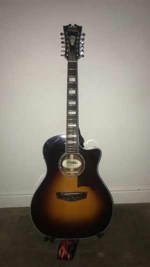 Di' Angelico 12 String Guitar for Sale in Selma, CA