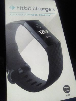 **NEW** FITBIT CHARGE 3 ADVANCED FITNESS TRACKER for Sale in Huntington Beach, CA
