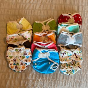12 Thirsties Diaper Covers Size 1 for Sale in Queen Creek, AZ