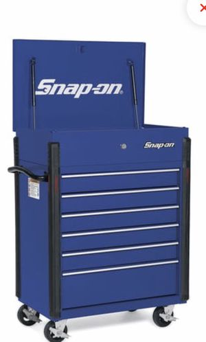 "SNAP ON 32"" SIX DRAWER ROLL CART/ TOOL BOX for Sale in Dearborn, MI"