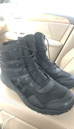 Size 14 under armour work boots for Sale in Owings Mills, MD