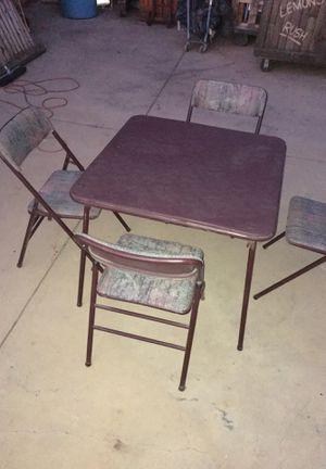 Vintage Poker Table/Kitchen Table for Sale in La Puente, CA