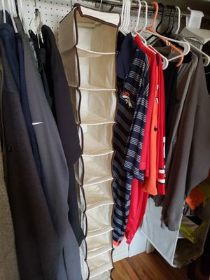 2 hanging closet organizers for Sale in Denver, CO