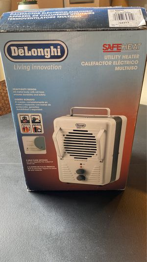 Delonghi SafeHeat space heater for Sale in Roanoke, VA