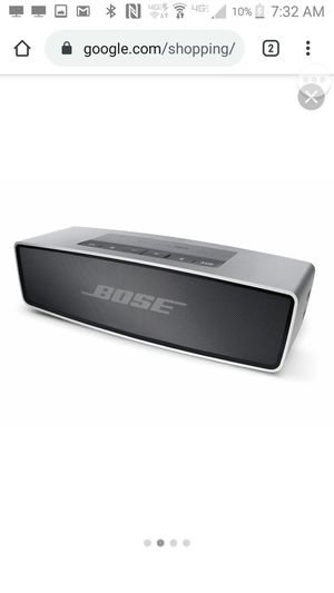 Bose sound link mini bluetooth bose for Sale in Mayfield Heights, OH