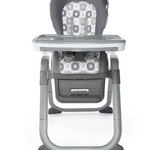 Ingenuity SmartServe 4-in-1 High Chair with Swing Out Tray–Clayton–Booster.New. for Sale in Lake Zurich, IL