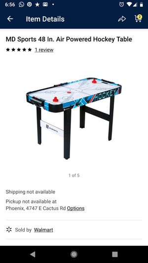 "Md sports air hockey table 48"" for Sale in Phoenix, AZ"