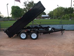 New 6x10x2 Dump Trailer two 3500 axles for Sale in Mesa, AZ