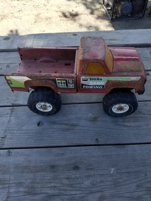 Vintage 1983 Tonka Tow Truck for Sale in Lathrop, CA