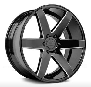 """24"""" VERDE INVICTUS RIMS PKG ✅24x10 Gloss Black Wheels ✅ 24"""" Tires 6*139.7 - Offset +31 Fits Any Lincoln 6 lug 24"""" wheel + many more Fitments Packa for Sale in La Habra, CA"""