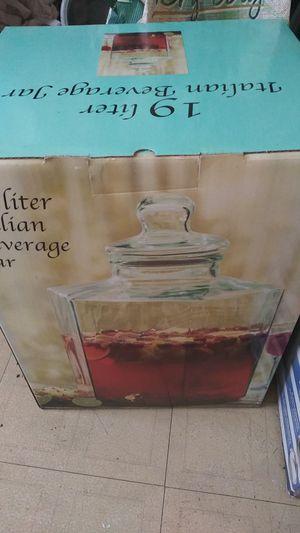 Jar italian beverage for Sale in Springfield, VA