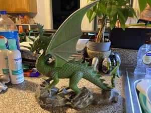 Large green dragon aquarium decoration for Sale in Chicopee, MA