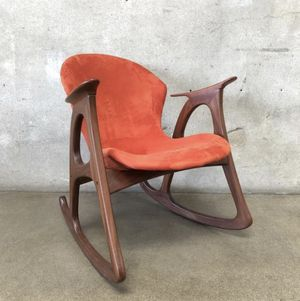 Mid century modern rocking chair for Sale in Huntington Beach, CA