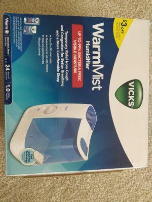 Vicks humidifier for Sale in Richmond, VA