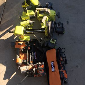 RIDGID And RYOBY Drill Circular Saw for Sale in Costa Mesa, CA