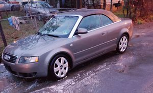 2007 Audi A4 1.8t convertible $3500 obo for Sale in Winnsboro, SC