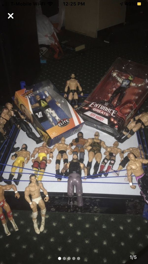 WWE ELITE COLLECTION - PRICE NEGOTIABLE