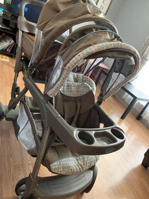 Double stroller for Sale in Wood River, IL