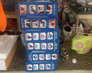 Sock slider 15 boxes in stock $10 or 2 for $15 for Sale in Groves, TX