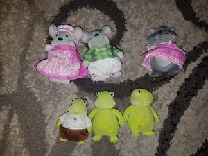 Li'l woodzeez mice, turtles, raccoons toys for Sale in Stockton, CA