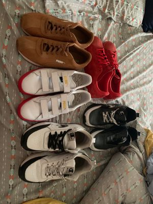 5 pairs of shoes size 12 for Sale in Levittown, PA
