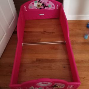 Minnie Mouse Toddler Bed for Sale in Indianapolis, IN