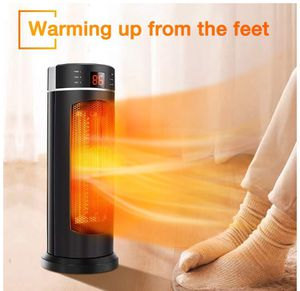 Space Heater - TRUSTECH Tower Heater 1500W 70° Oscillation with Remote Control, Overheating & Tip-Over Protection, Adjustable Thermostat, 12H Timer for Sale in North Logan, UT
