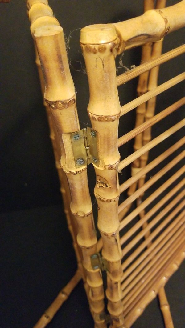MCM Bamboo Magazine Rack