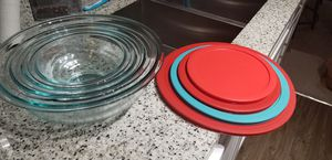 Pyrex mixing bowls for Sale in Charlotte, NC