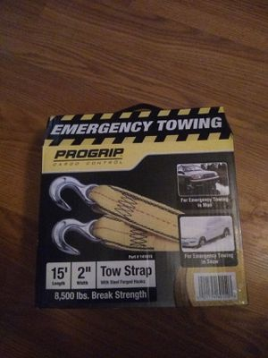 Progrip emergency towing straps for Sale in Dale City, VA