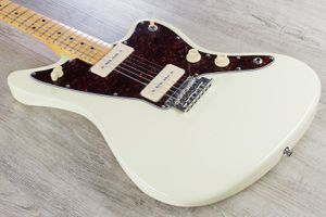 Tagima TW-61 Woodstock Series Jazzmaster Style Electric Guitar - Vintage White for Sale in Houston, TX