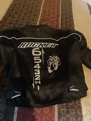 Joe rocket motorcycle jacket and fly gloves for Sale in Canton, MS