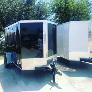 Cargos 5x8 and 5x10cargo w ramp and barn door for Sale in Dallas, TX