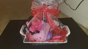 Valentine's Day basket!! for Sale in Houston, TX