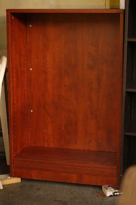"""#34591 Cherry Effect 14"""" x 47"""" x 31.5"""" Wide Shelf (You Supply Pegs We Have Shelves) for Sale in Oakland, CA"""
