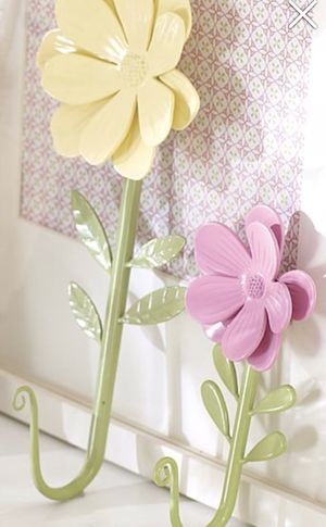 Pottery Barn Kids Flower Hooks for Sale for sale  Duluth, GA