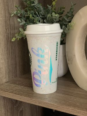 Grande pink Starbucks cup for Sale in Gilroy, CA
