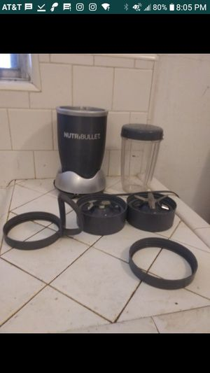Nutribullet blender for Sale in Houston, TX
