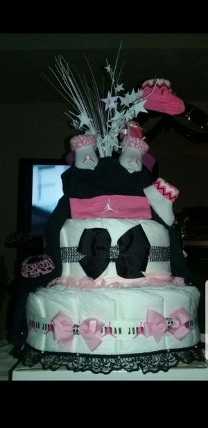 Custom diaper cakes for Sale in Cleveland, OH