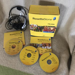 Rosetta Stone Italian Level 1 Version 4 for Sale in Anchorage, AK