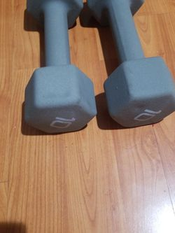 Two 10lb Dumbells for Sale in Santa Ana,  CA